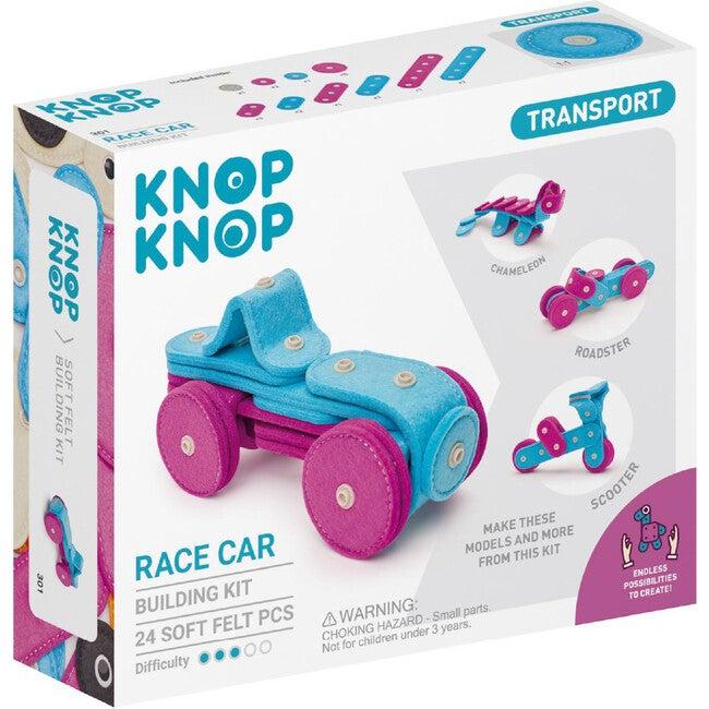 Race Car 24-Piece Felt Building Kit - STEM Toys - 1