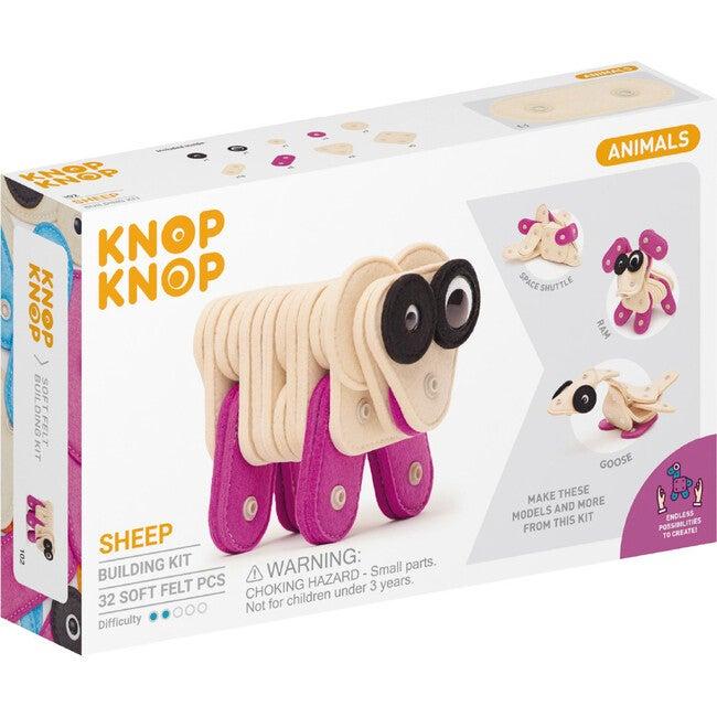 Sheep 32-Piece Felt Building Kit