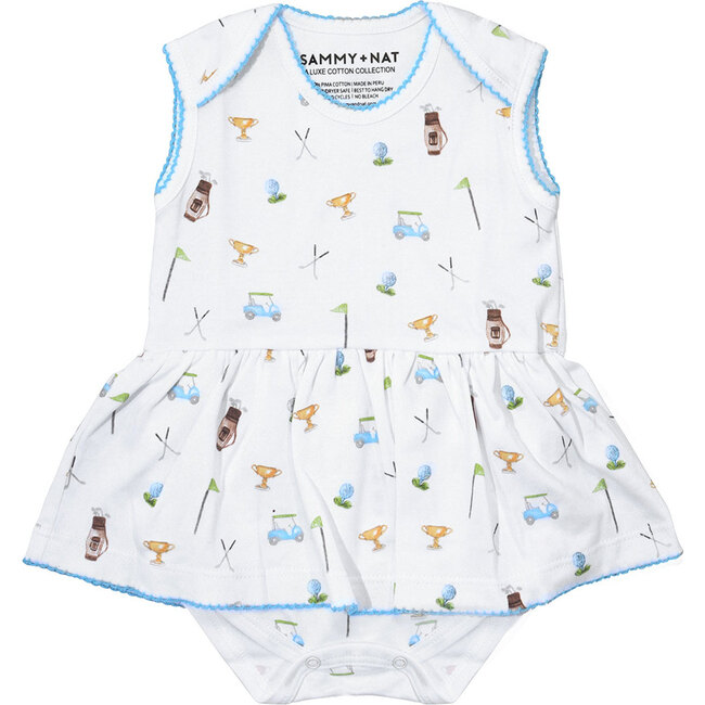 Golf Outing Print Riley Romper