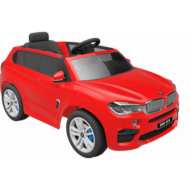 BMW X5, Red