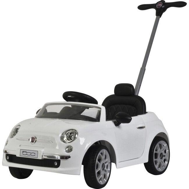 Fiat 500 Push Car, White
