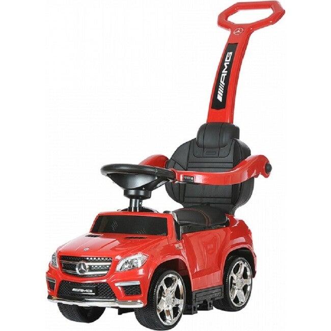 4 in 1 Mercedes Push Car, Red