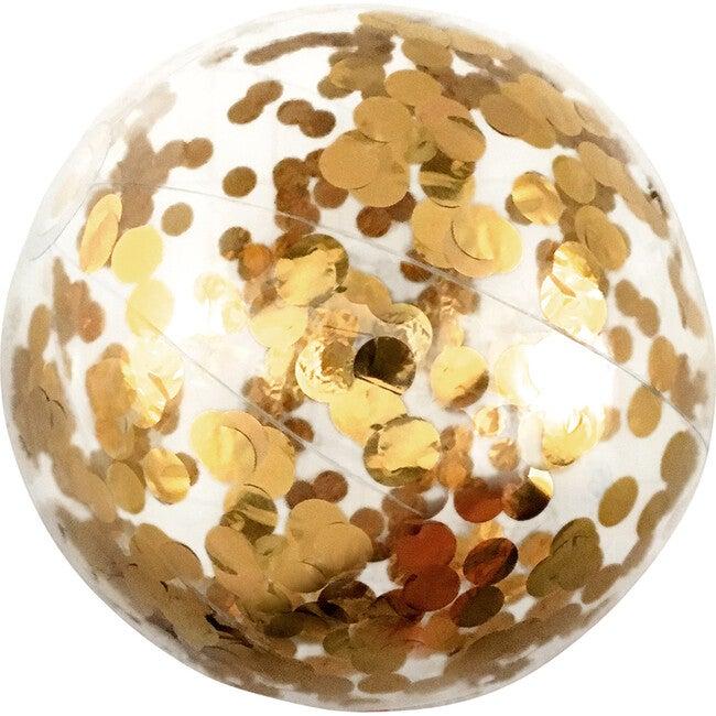Cue the Confetti! Beach Ball, Gold
