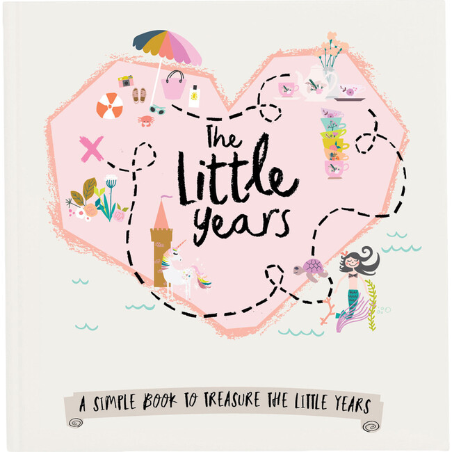 The Little Years Toddler Book, Girl