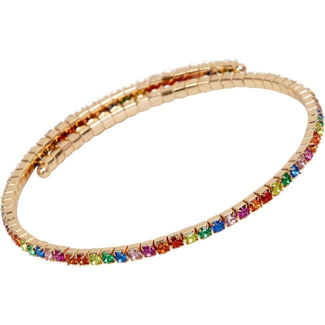 Rainbow Rave Wrap-Around Necklace