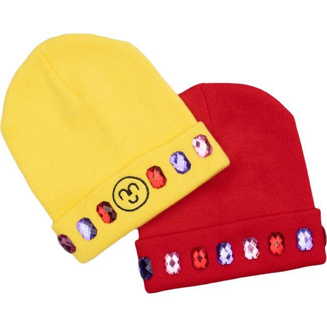 Snowball Fight Beanie Hat Set