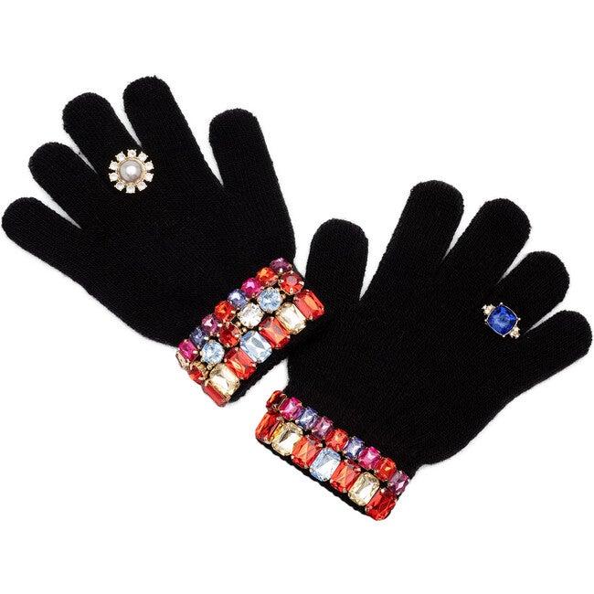 Ice Skating Jeweled Gloves
