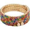 Rainbow Rave Wrap-Around Bracelet Set - Bracelets - 3