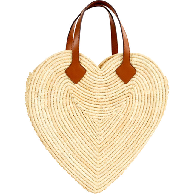 Women's The Big Heart Tote, Natural