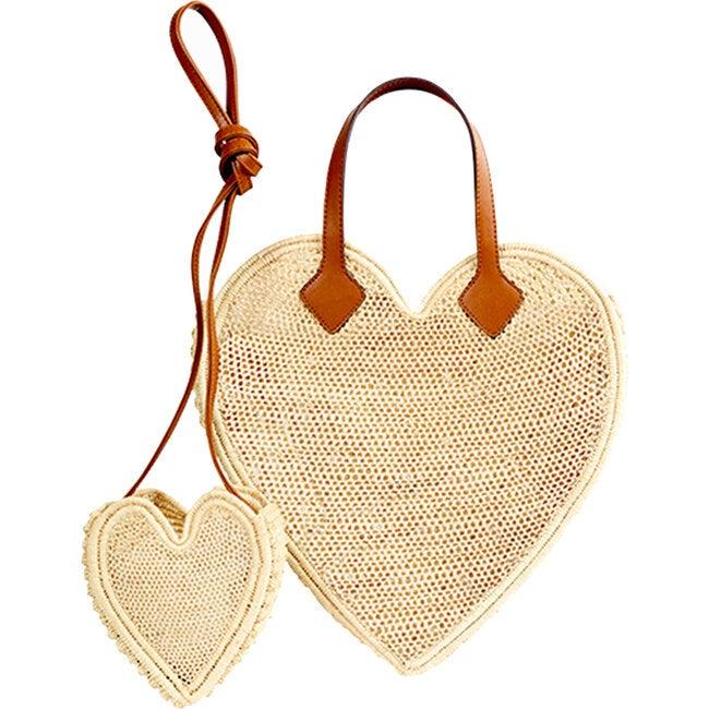 Big And Little Heart Bundle, Natural