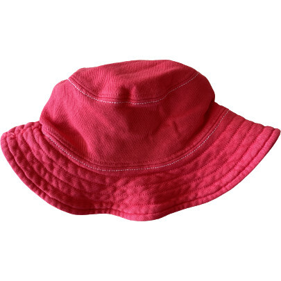 Lil' Sunshine Hat, Raspberry