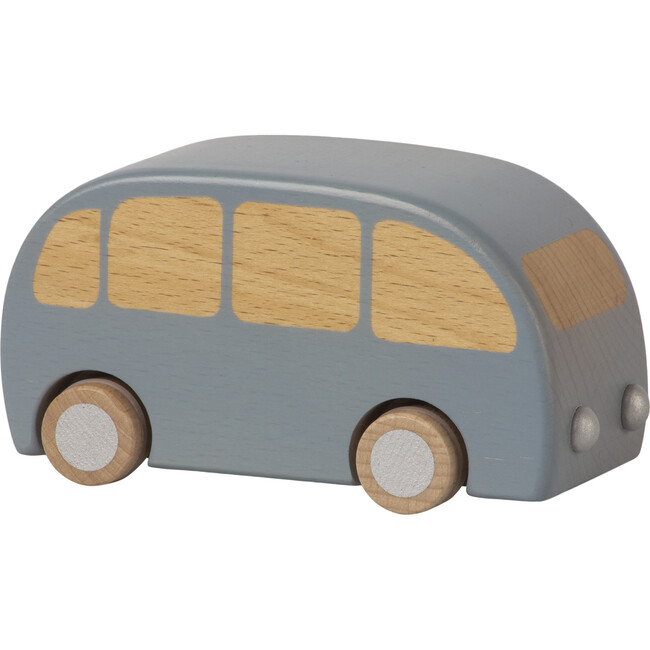 Wooden Bus, Blue