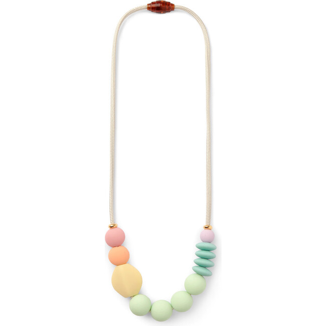 *Exclusive* Rainbow Sherbet Signature Teething Necklace - Necklaces - 1
