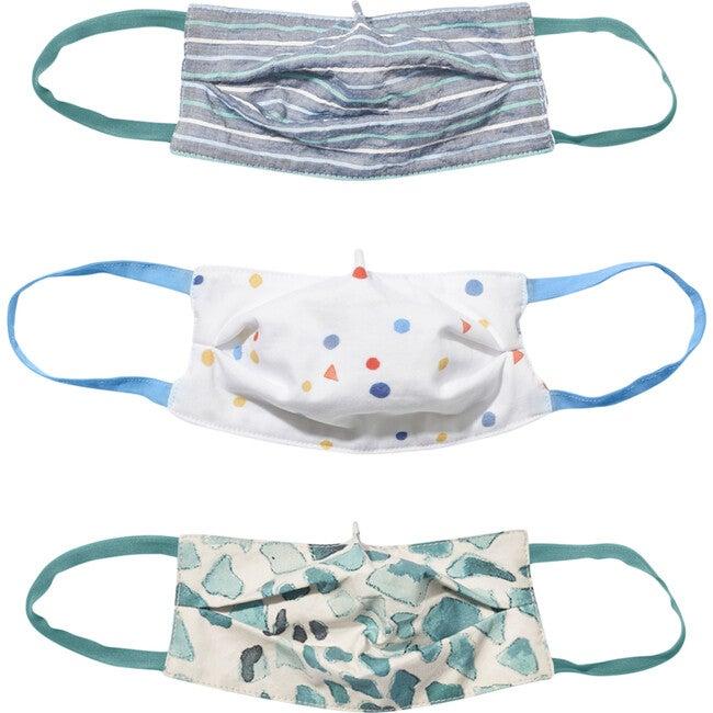 Child 3 Masks Set, Spots & Stripes