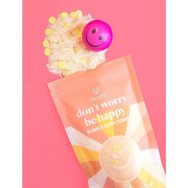 Don't Worry Be Happy Bubbly Bath Soak