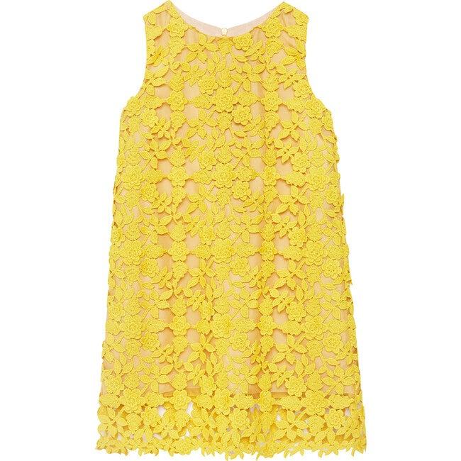 Scoop Neck Lace Dress, Ginger