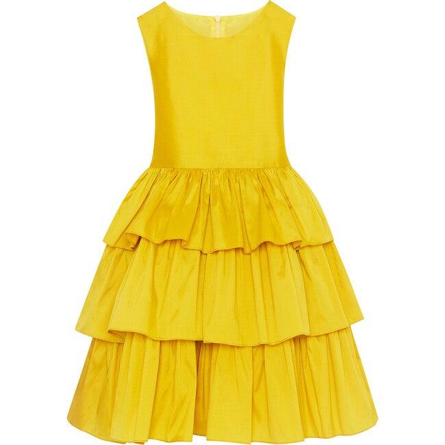 Tiered Dress, Ochre