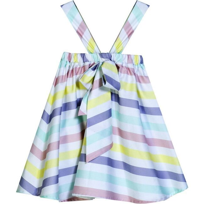 Striped Bow Dress, Multi