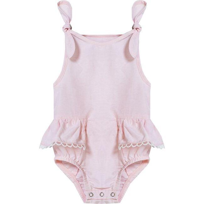 Ruffle Bodysuit, Pink