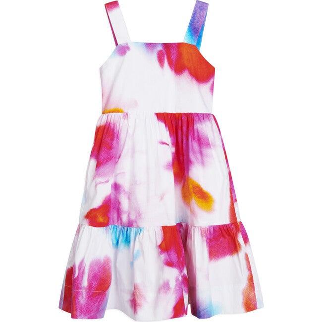 Gia Dress, Pigment Splash Neon