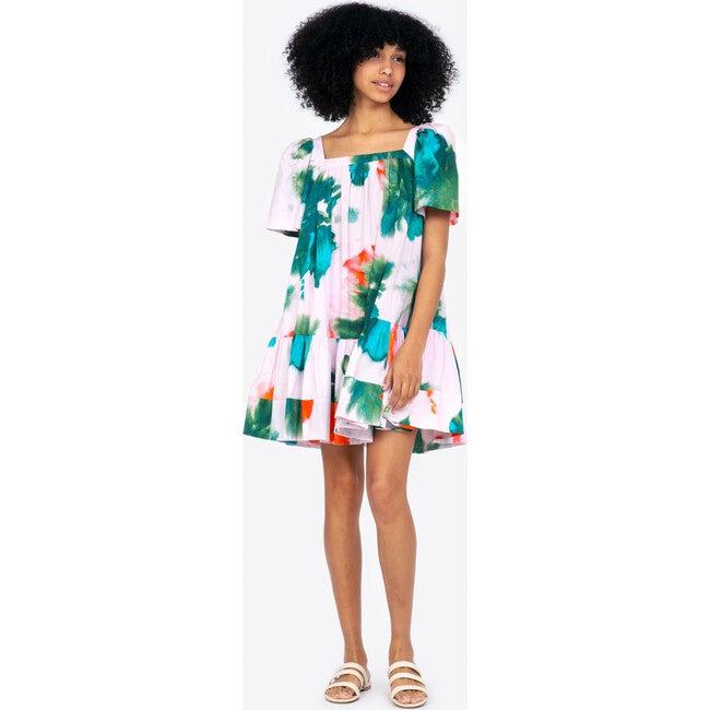 Women's Serena Dress, Pigment Splash Hyacinth