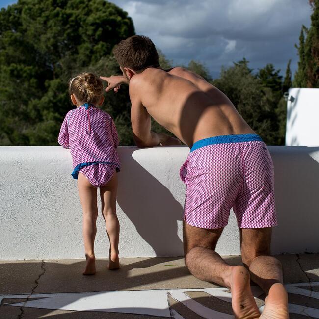 Octavie Miami Beach Bikini Bottoms, Pink