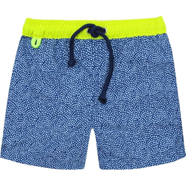 Meno Sunny Atolls Swim Trunks, Blue