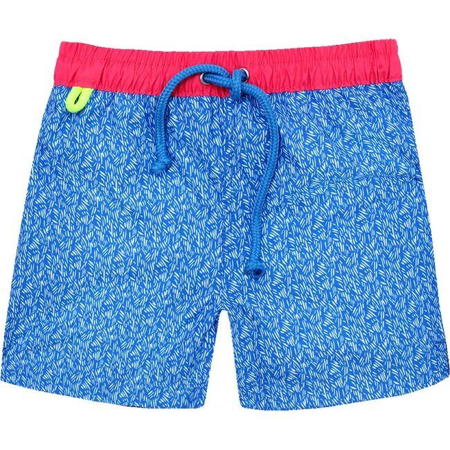 Meno Riviera Swim Trunks, Blue
