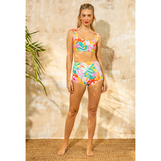 Women's Josephine Full Coverage Swim Bottom, Brushed Flora