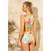 Women's Josephine Full Coverage Swim Bottom, Brushed Flora - Two Pieces - 6