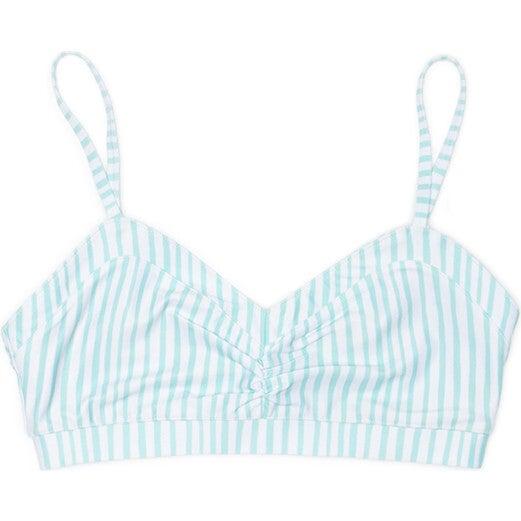 Women's Chloe Swim Bra, Sea Glass Stripe - Two Pieces - 1