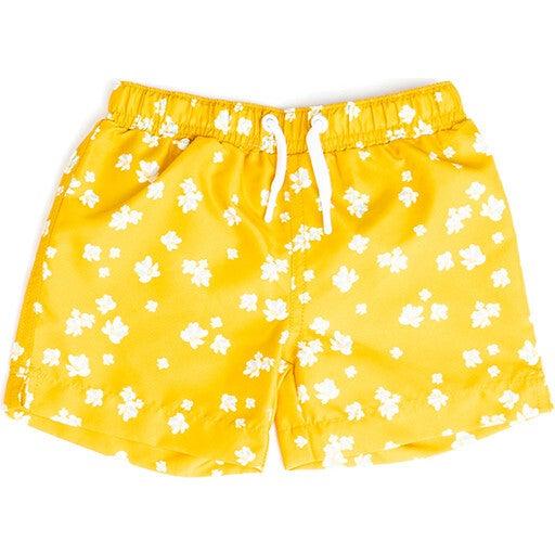 Mini Major Boys Boardshort, Sun Sprite - Swim Trunks - 1