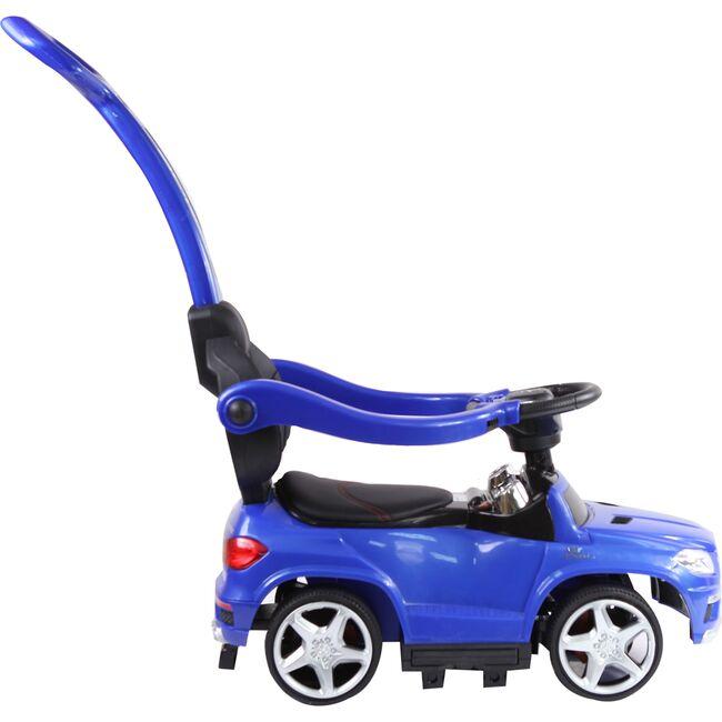 4-in-1 Mercedes Push Car, Blue
