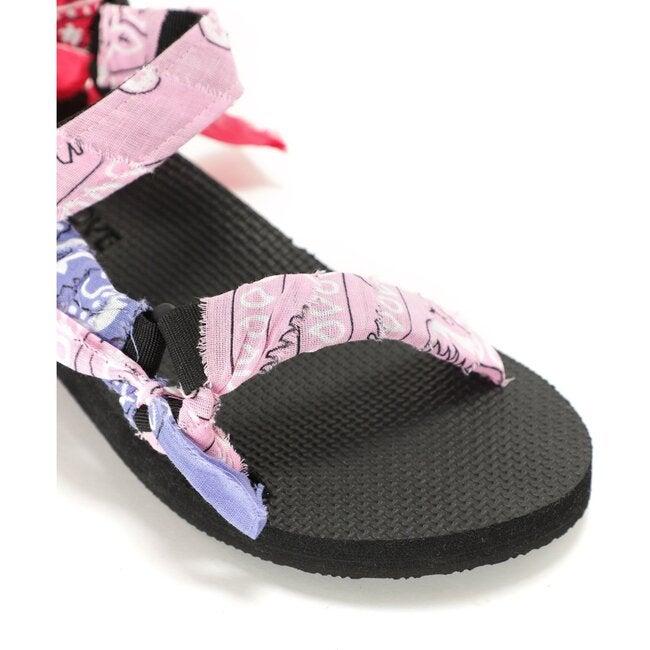 Trek Sandals, Bandana Pink