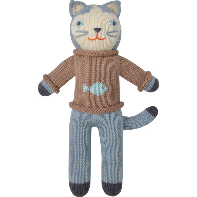 Sardine the Cat Knit Doll, Mini