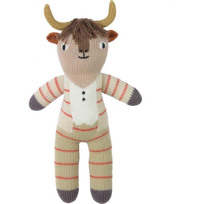 Pablo the Longhorn Knit Doll, Mini