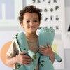 Mini Iggy the Dinosaur Knit Doll, Teal - Dolls - 7