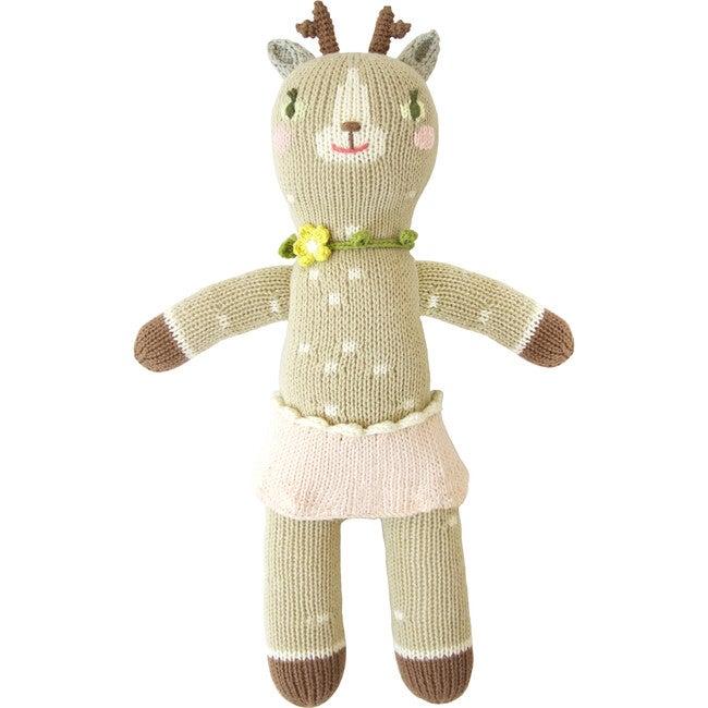 Hazel the Deer Knit Doll, Mini