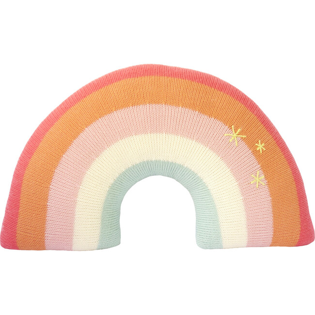 Rainbow Pillow, Pink