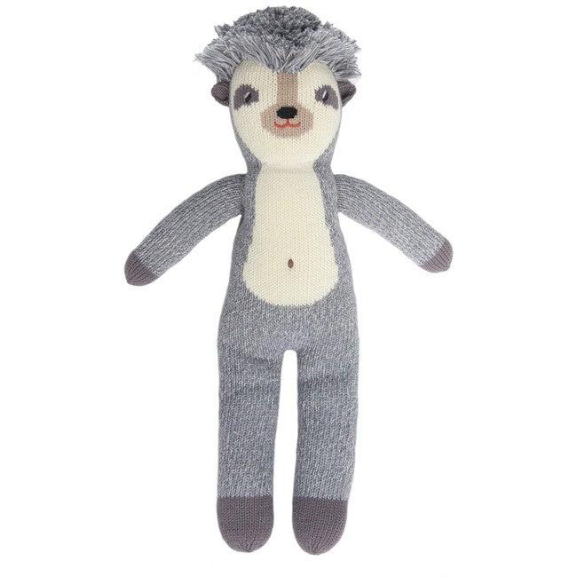 Edgar the Hedgehog Knit Doll, Grey