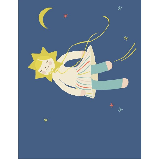 Nova Dreamer Art Print, Blue