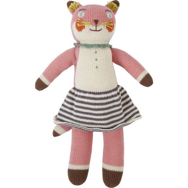 Suzette the Fox Knit Doll