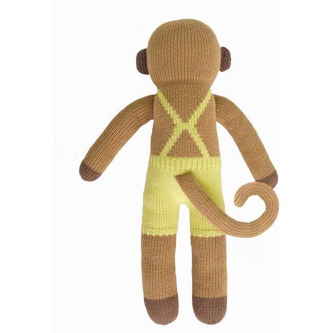 Yoyo the Monkey Knit Doll, Yellow/Brown