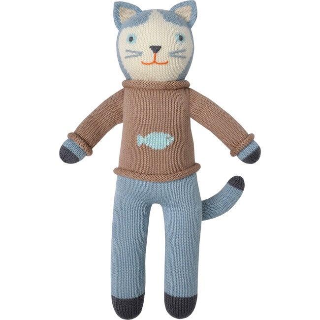 Sardine the Cat Knit Doll