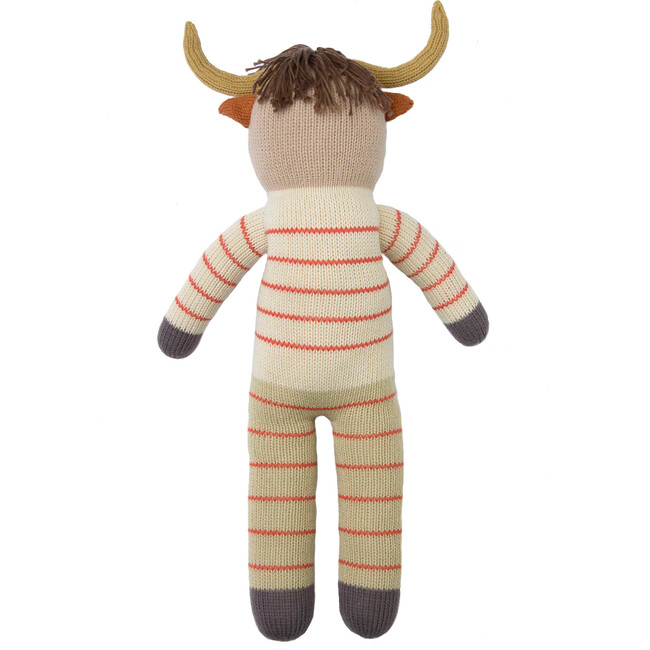 Pablo the Longhorn Knit Doll