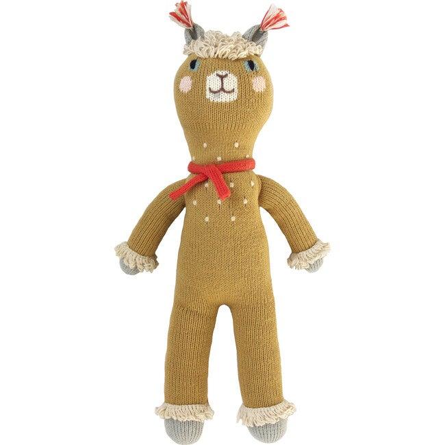 Machu the Alpaca Knit Doll