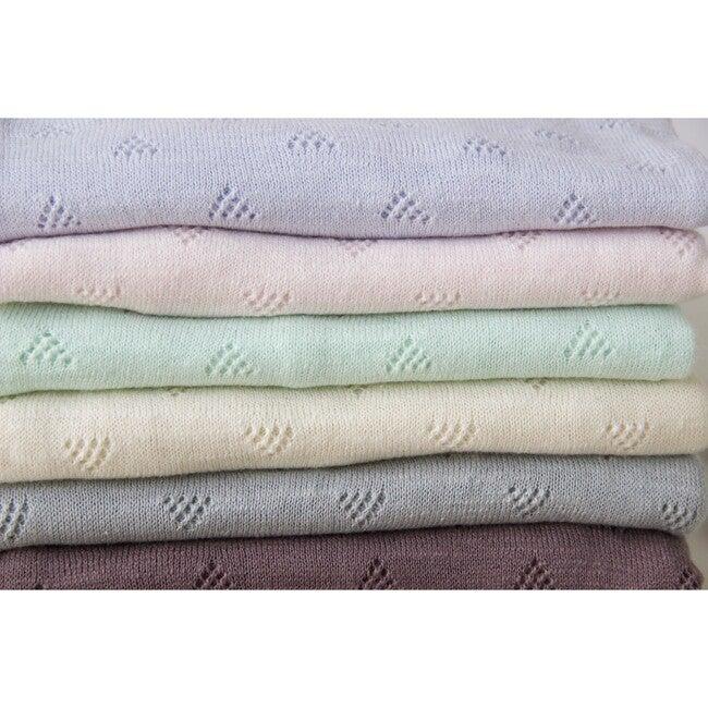 Little Triangle Receiving Blanket, Mint