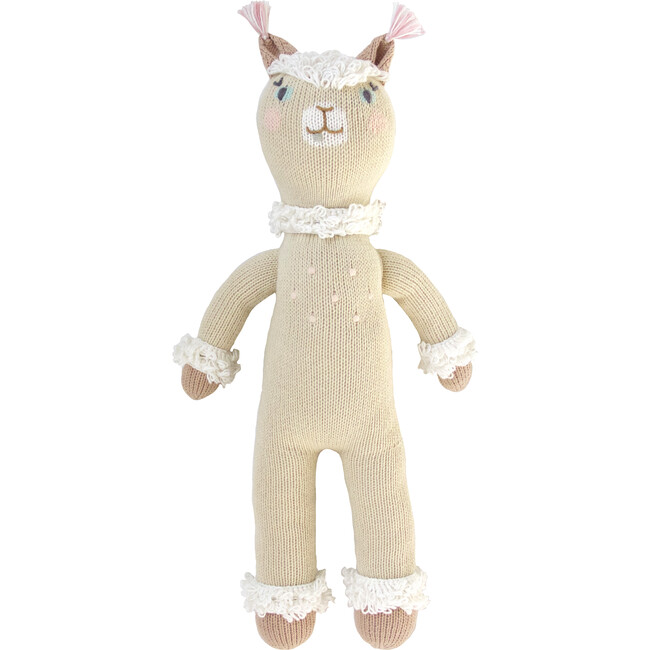 Picchu the Alpaca Knit Doll