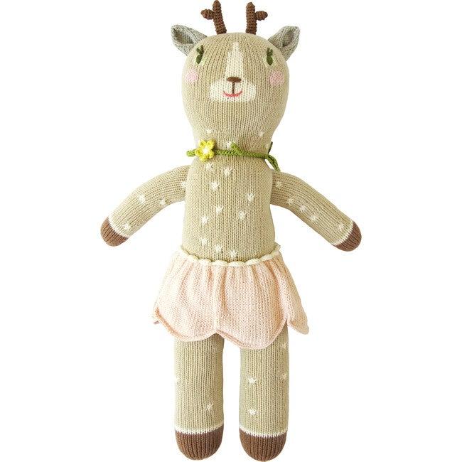 Hazel the Deer Knit Doll