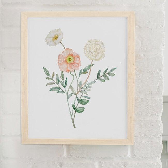 Floral Burst #3 Art Print, Unframed